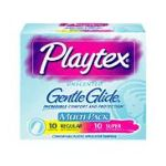 Playtex feminie care - Gentle Glide Tampons Unscented Multi-pack 20 tampons 0078300086253  / UPC 078300086253