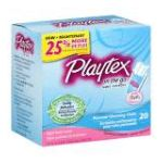 Playtex feminie care - Personal Cleansing Cloths Light Fresh Scent 0078300069201  / UPC 078300069201