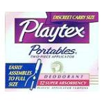 Playtex feminie care - Tampons 12 tampons 0078300085423  / UPC 078300085423