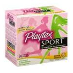 Playtex feminie care - Tampons Plastic Regular Absorbency Unscented 0078300099222  / UPC 078300099222