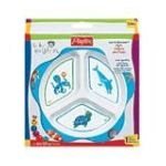 Playtex feminie care - Baby Einstein Eat And Discover Plate 0078300058113  / UPC 078300058113
