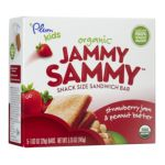 Plum Organic - Organic Jammy Sammy Snack Size Sandwich Bar Strawberry Jam & Peanut Butter 0846675002433  / UPC 846675002433
