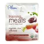 Plum Organic - Training Meals Baby Food Stage 3 Vegertable Stew With Beef 0846675000026  / UPC 846675000026