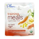 Plum Organic - Training Meals Baby Food Stage 3 Red Lentil Veggie 0846675000040  / UPC 846675000040