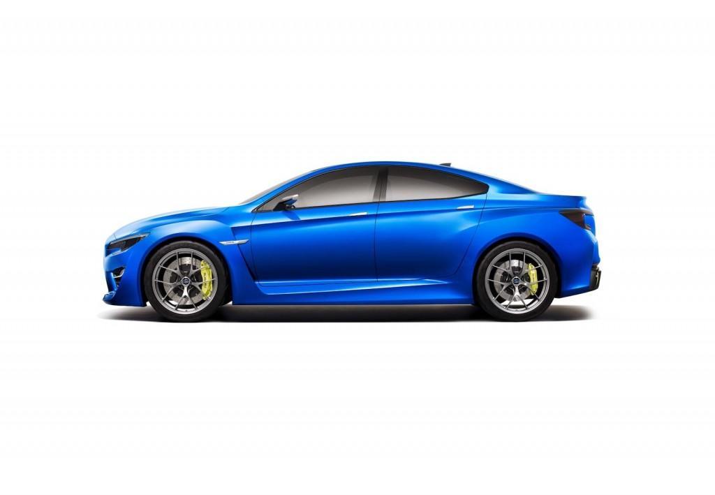 2016 Subaru WRX - Side