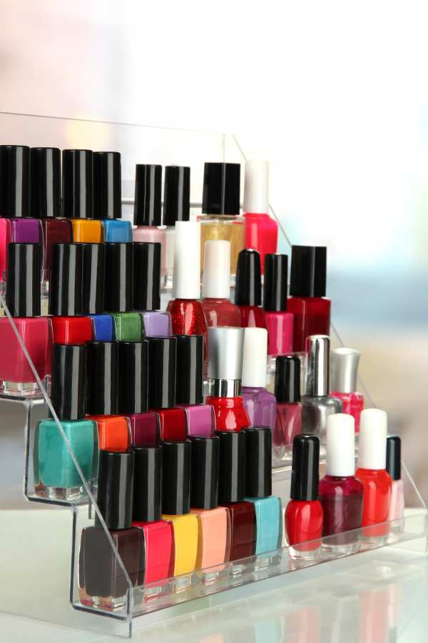 Chanel nail polish rack