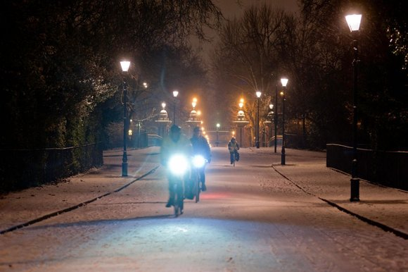 Bike-light makers are engaged in an 'arms race' to produce ever-brighter lights