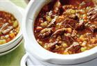 Beef and Barley Soup from Canadian Living's New Slow Cooker Favourites.
