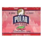 Polar - Seltzer Cranberry Lime Water Cans Case 24 0071537201420  / UPC 071537201420