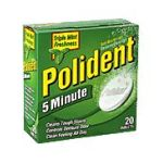 Polident - 5 Minute Tablets Denture Cleanser 0010158053032  / UPC 010158053032