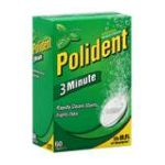 Polident - Denture Cleanser 60 tablet 0310158053101  / UPC 310158053101