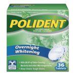 Polident - Overnight Denture Cleanser Tablets 36 0310158034032  / UPC 310158034032