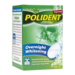 Polident - Overnight Whitening Denture Cleanser 78 0310158034070  / UPC 310158034070