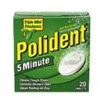 Polident - Double Action Denture Cleanser 20 ct 0310158053033  / UPC 310158053033