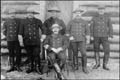 Photograph: Personnel of the North West Mounted Police (Dawson, Yukon) / National Archives of Canada / C-042755