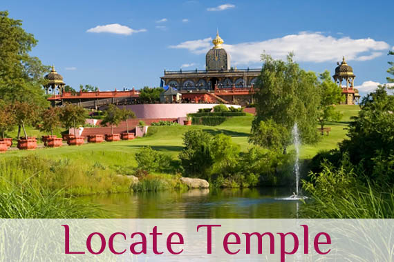 Find out where is the nearest Temple
