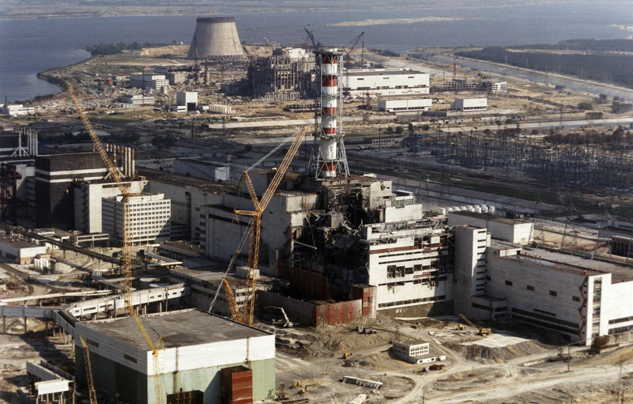 Work is carried out on reactor 1 - October 1st