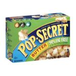 Pop-Secret - Microwave Popcorn 94% Fat Free Butter 1 Box 1 box,3 bags 0023896451701  / UPC 023896451701