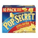 Pop-Secret - Microwave Popcorn Extra Butter 0023896138909  / UPC 023896138909