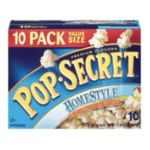 Pop-Secret - Microwave Popcorn Homestyle 0023896178608  / UPC 023896178608