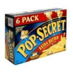 Pop-Secret - Microwave Popcorn Premium Extra Butter 0016000166806  / UPC 016000166806
