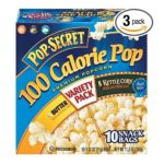 Pop-Secret - Pop Secret Snack Size 100 Calorie Variety Pack Butter & Kettle Corn Microwavable Popcorn 0023896196978  / UPC 023896196978