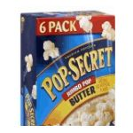 Pop-Secret - Pop Secret Jumbo Pop Butter Flavor Microwaveable Popcorn 0023896362403  / UPC 023896362403