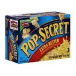 Pop-Secret - Popcorn Premium Extra Butter 0016000166707  / UPC 016000166707