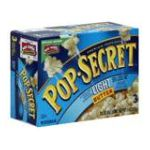 Pop-Secret - Popcorn Premium Light Butter 0016000497702  / UPC 016000497702