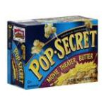 Pop-Secret - Popcorn Premium Movie Theater Butter 0016000576902  / UPC 016000576902