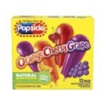 Popsicle - Flavored Ice Pops Assorted Flavors 0077567121202  / UPC 077567121202