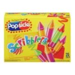 Popsicle - Ice Pops Scribblers Assorted Flavors 0077567021984  / UPC 077567021984