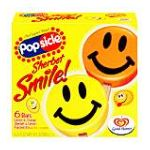Popsicle - Sherbet Smile Ice Bars 0077567003607  / UPC 077567003607