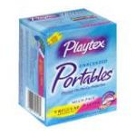 Playtex feminie care - Comfortable Plastic Applicator Tampons 18 tampons 0068875015130  / UPC 068875015130