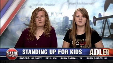 Standing up for kids