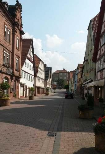 Sommersonntagnachmittag in Amorbach