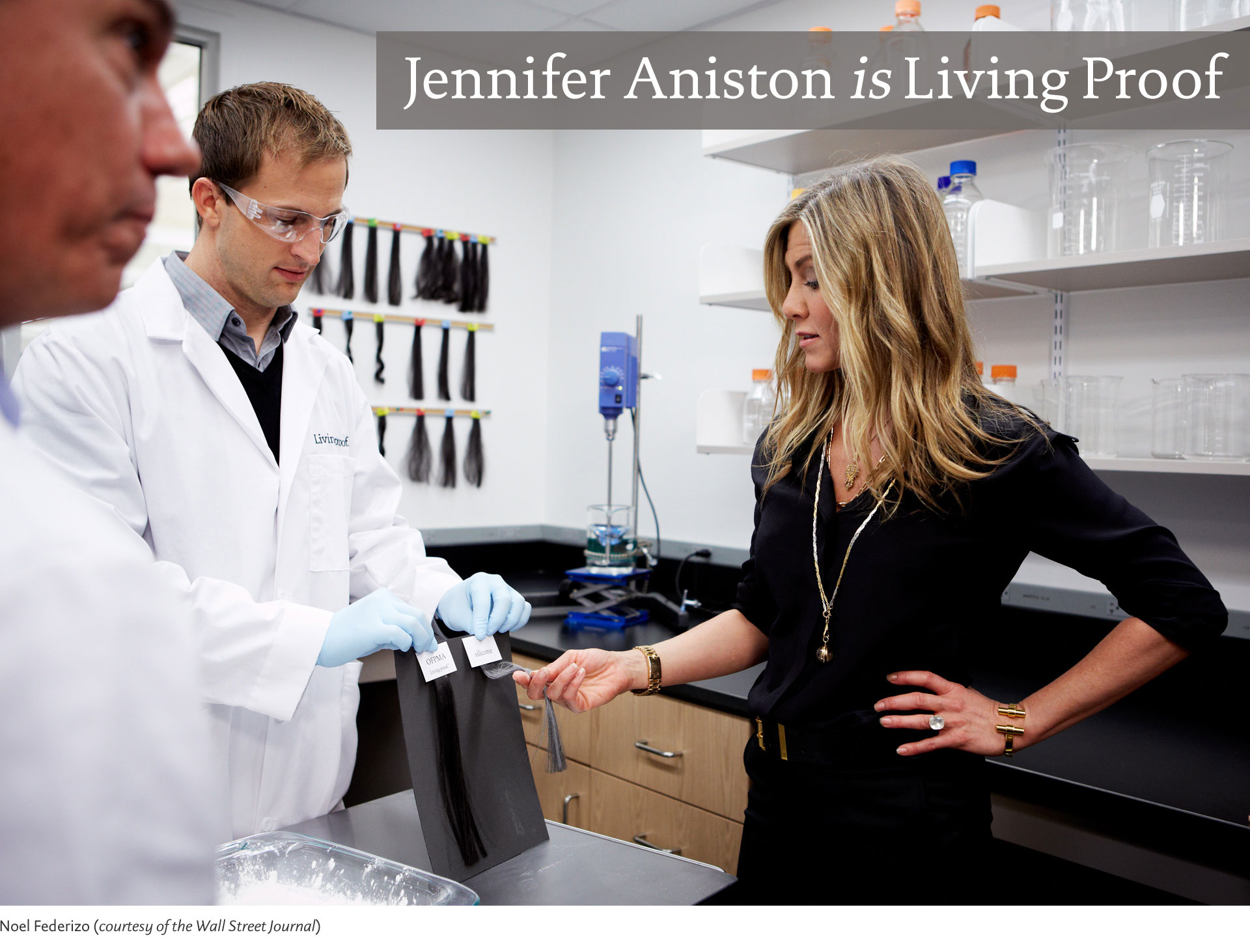 Jennifer Aniston is Living Proof