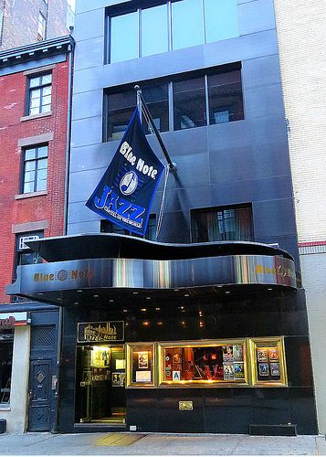 The Blue Note jazz club, 131 West 3rd Street, New York City. October 11, 2013.