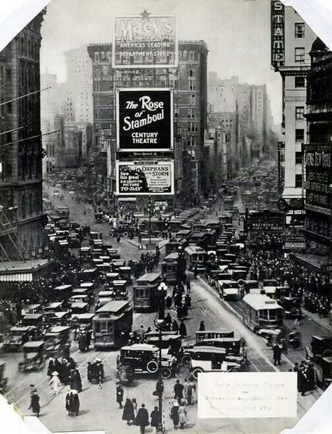 1922 New York `°•○●○•°`` Times Square