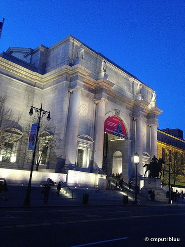 The American Museum of Natural History, located on the Upper West Side of Manhattan in New York City is one of the largest and most celebrated museums in the world. The museum comprises 25 interconnected buildings that house 46 permanent exhibition halls, research laboratories, library and  over 32 million specimens, of which only a small fraction can be displayed at any given time.