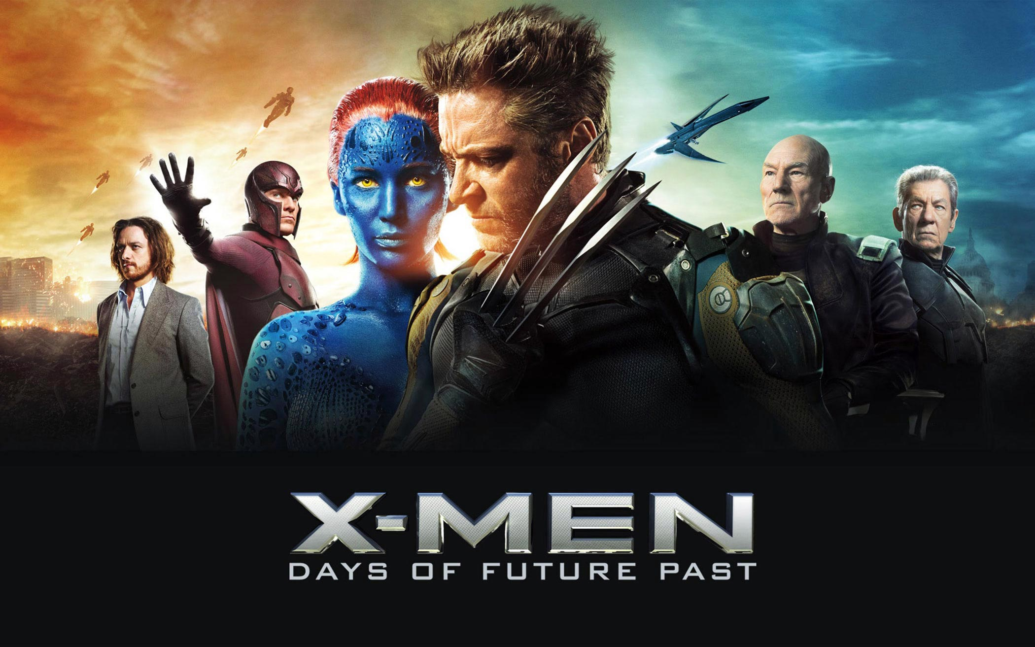 X Men Days of Future past wall paper