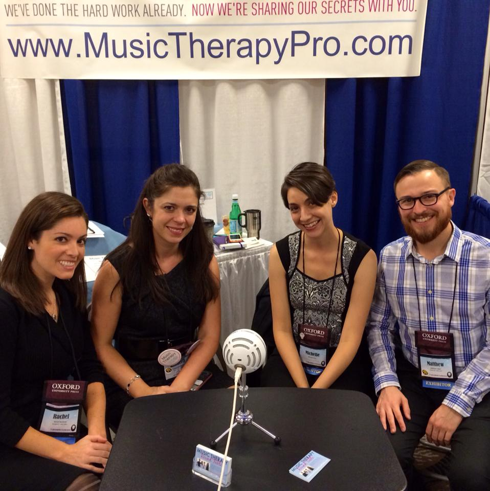 Music Therapy Round Table Podcast Hosts