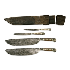 Knives with sheath