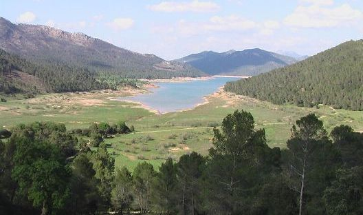 Turismo rural: embalse del tranco de Beas