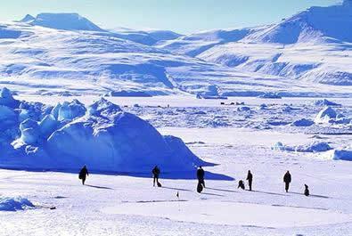 Ice Golfing