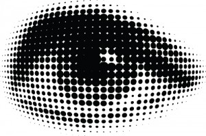 Halftone Dots Image