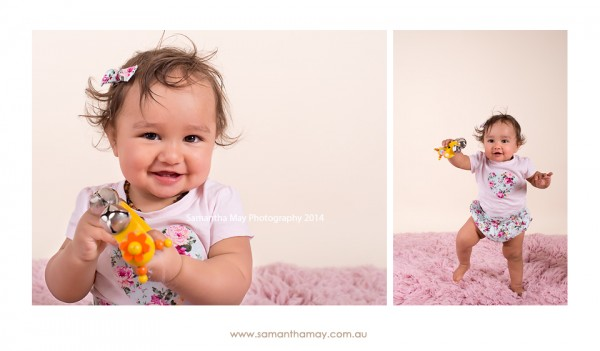 perth baby photographer 11 month old girl