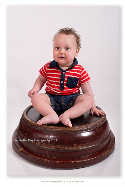 milestone photography 10 month old baby boy perth