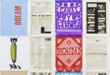 Andrea Bowers, la raza y la causa (excerpts from the archive of carlos montes), 2015, 291 political posters, photographic archival inkjet prints, decorative paper, papel picado, stickers and push pins, 56 x 43 cm