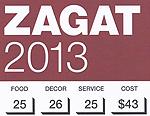 Zagat 2013